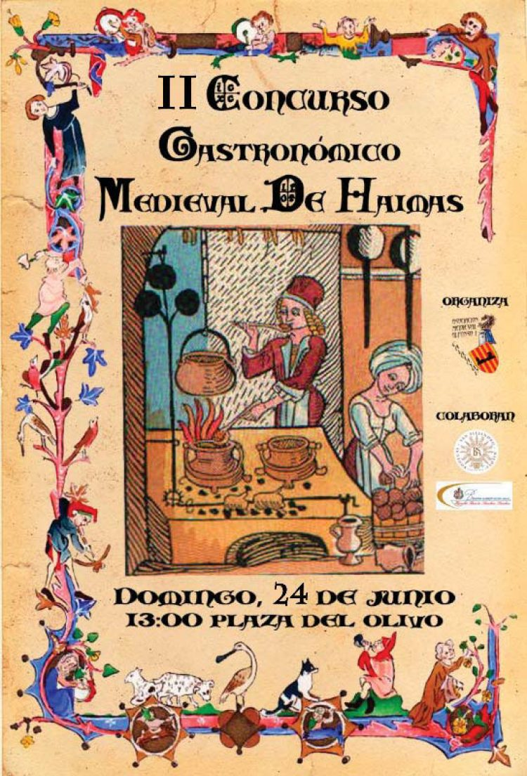 Concurso Gastronómico Medieval de Haimas, 2018